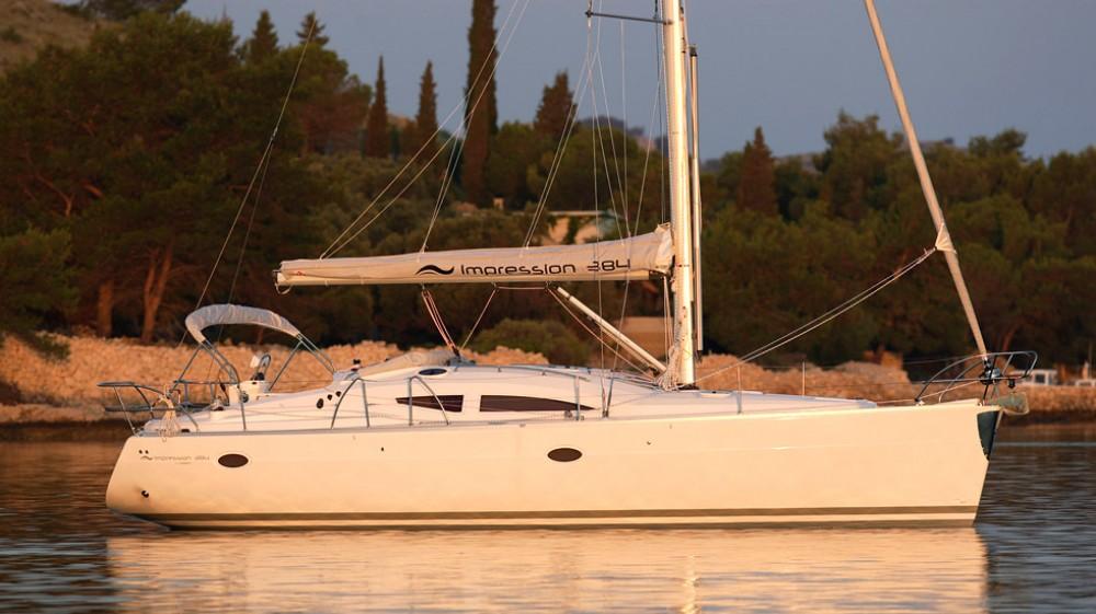 Rental yacht Lávrio - Elan Elan 384 on SamBoat
