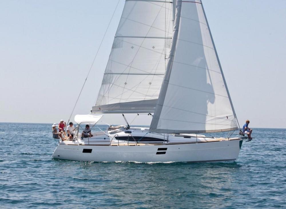 Boat rental Slovenia cheap Elan Impression 40