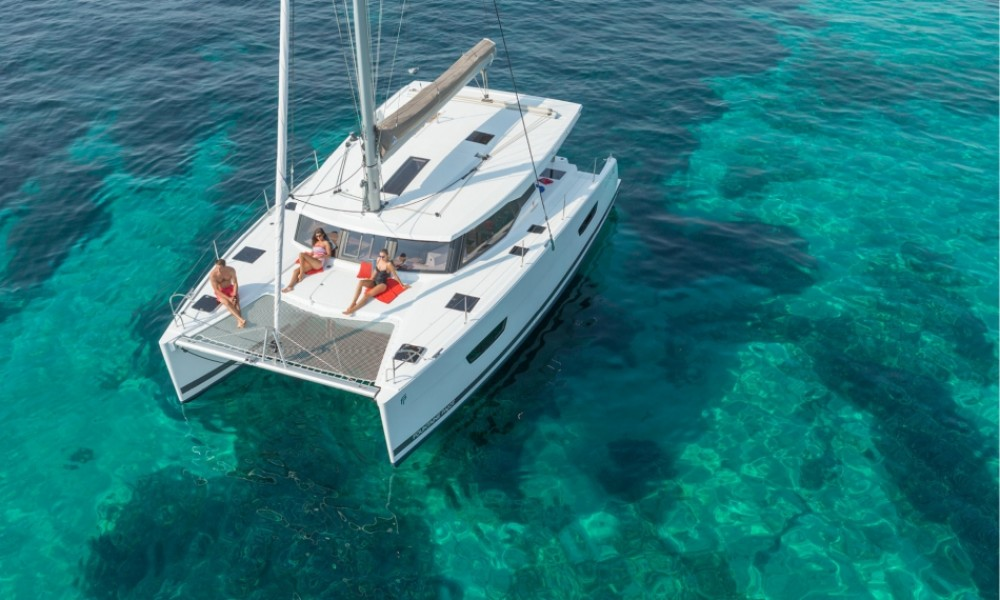 Fountaine Pajot Lucia 40 between personal and professional Croazia