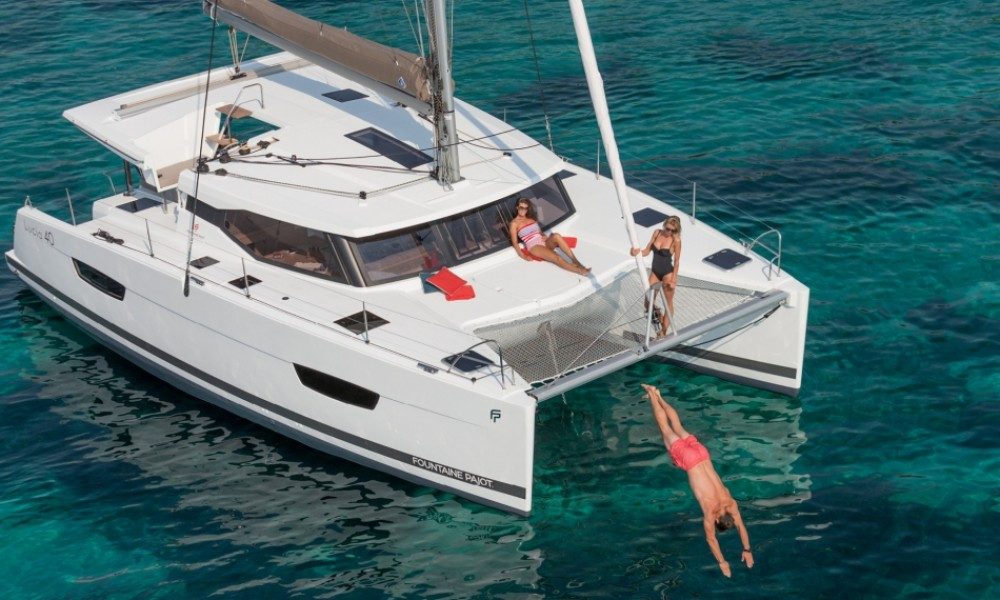 Hire Catamaran with or without skipper Fountaine Pajot Croazia