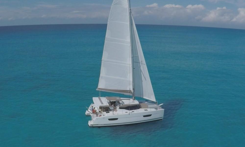 Rental yacht Croazia - Fountaine Pajot Lucia 40 on SamBoat