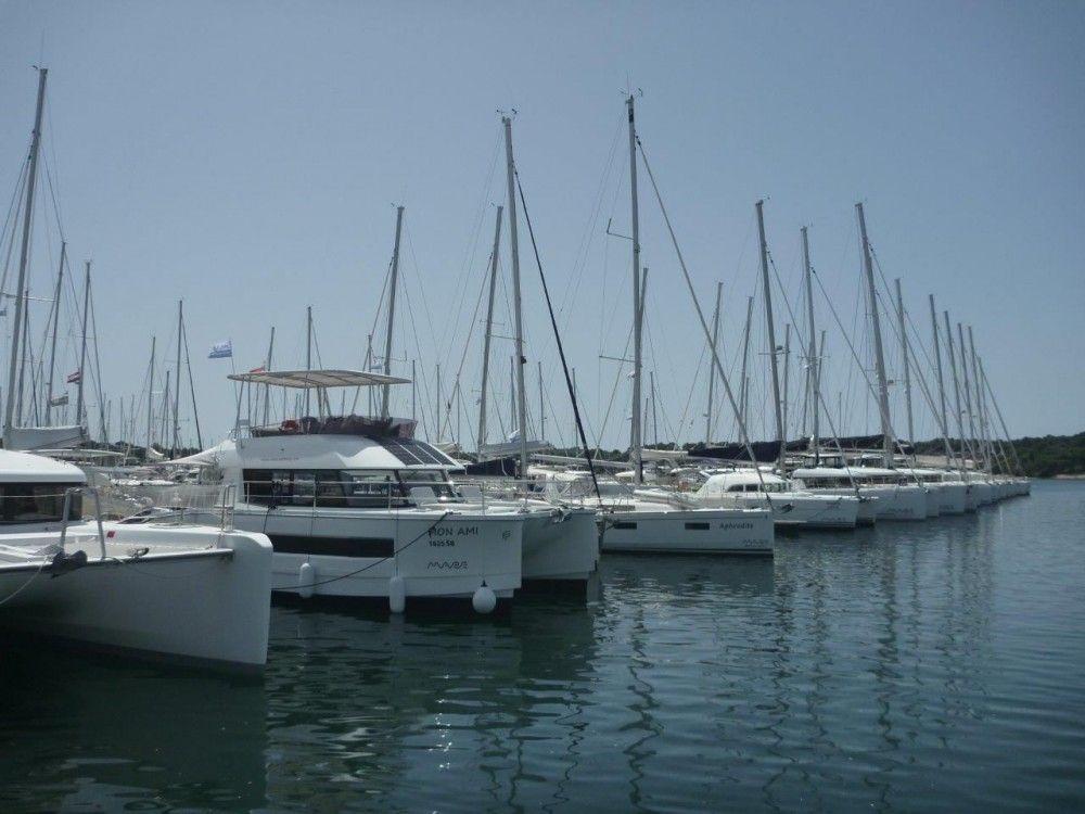 Boat rental Šibenik cheap Fountaine Pajot MY 37 - 3 cab.