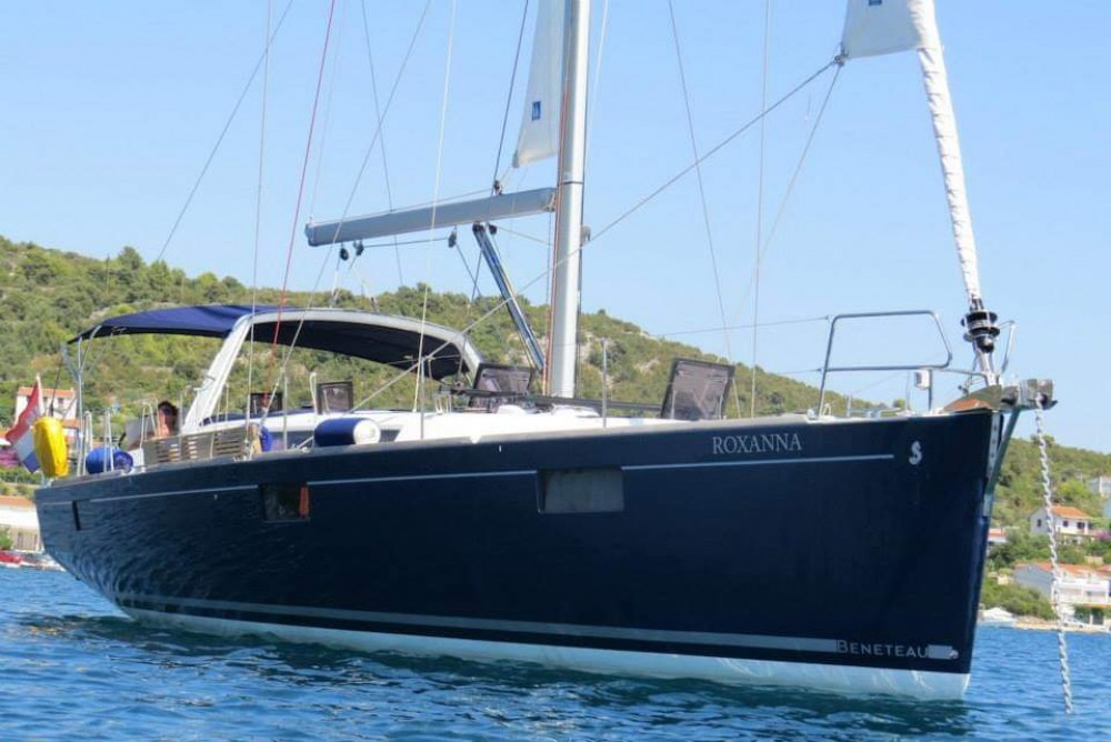 Boat rental Palma cheap Oceanis 48