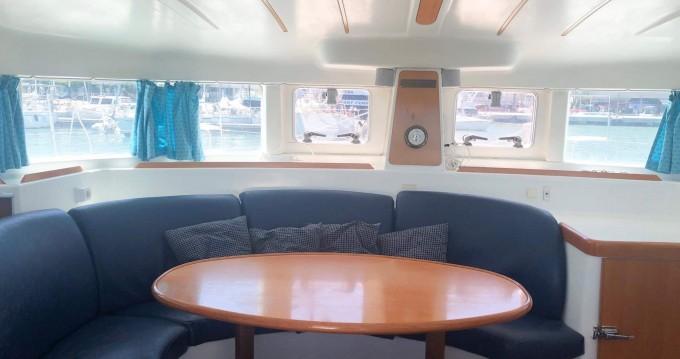 Boat rental Ibiza Town cheap Lagoon 380 S2