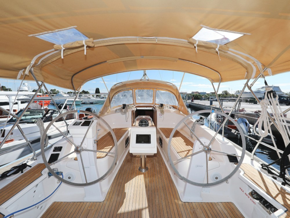 Hire Sailboat with or without skipper Bavaria D-Marin Borik