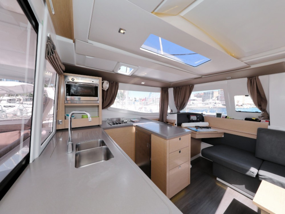 Fountaine Pajot Helia 44 between personal and professional Marina Zadar
