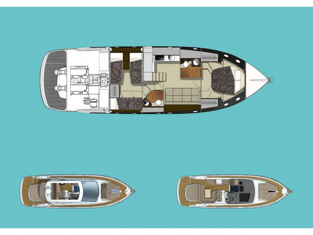 Hire Motor boat with or without skipper Cranchi Šibenik