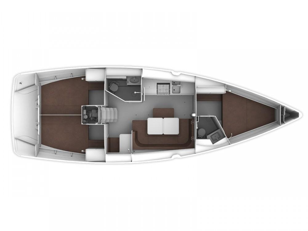 Rental yacht Lávrio - Bavaria Bavaria Cruiser 41 on SamBoat