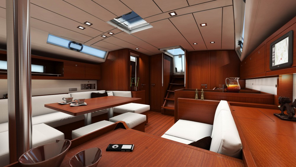 Bénéteau Oceanis 45 between personal and professional Athens