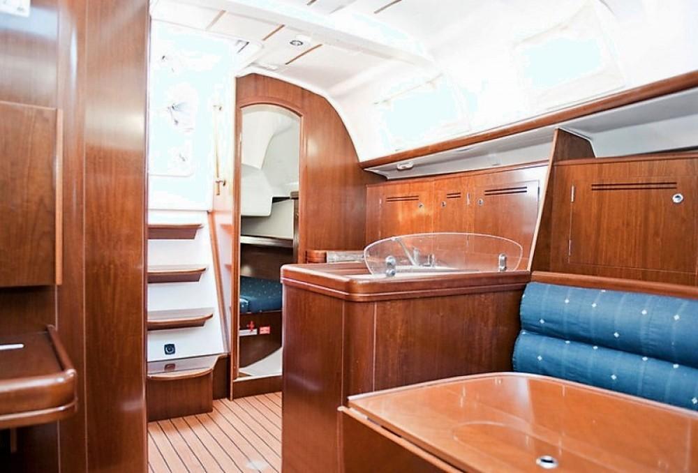 Boat rental Skiathos cheap Oceanis 343