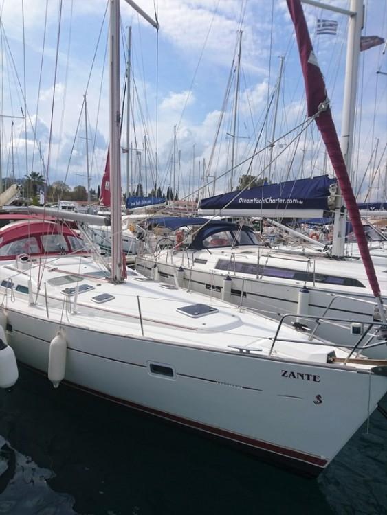 Boat rental Corfu cheap Oceanis 423