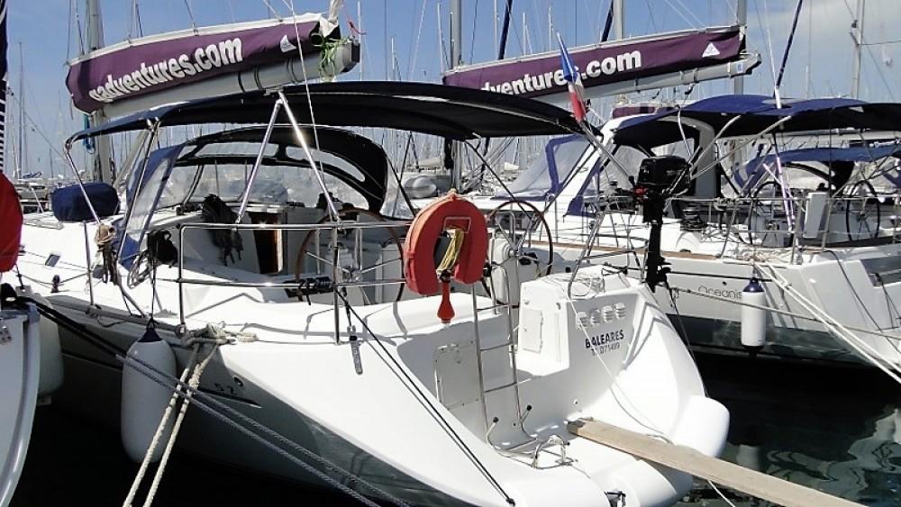 Rental Sailboat in Athens - Poncin Yachts Harmony 52