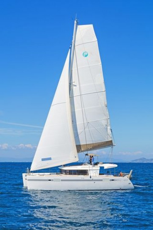 Hire Catamaran with or without skipper  Aegean