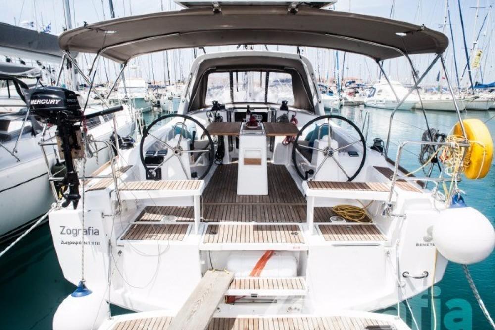 Boat rental  cheap Oceanis 38