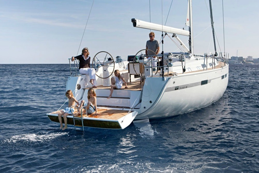 Bavaria Bavaria Cruiser 45 between personal and professional Kos