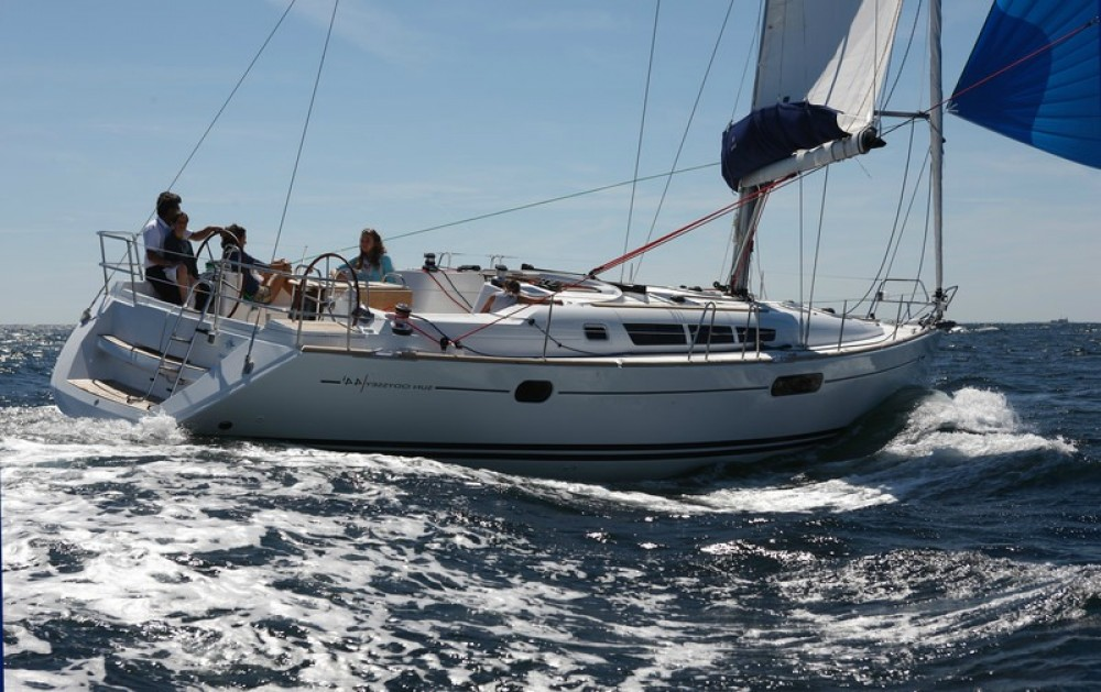 Jeanneau Sun Odyssey 44i between personal and professional Peloponnese, West Greece and Ionian Sea