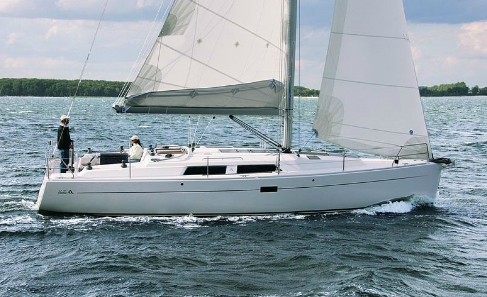 Rental Sailboat in  - Hanse Hanse 400E