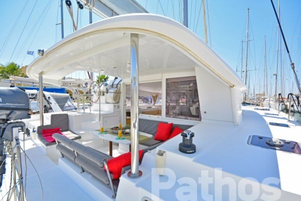 Hire Catamaran with or without skipper Lagoon Skiathos