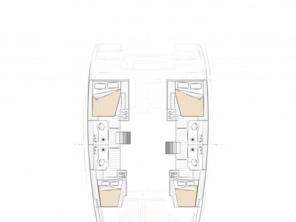 Rental Catamaran in Komolac -  Excess 12
