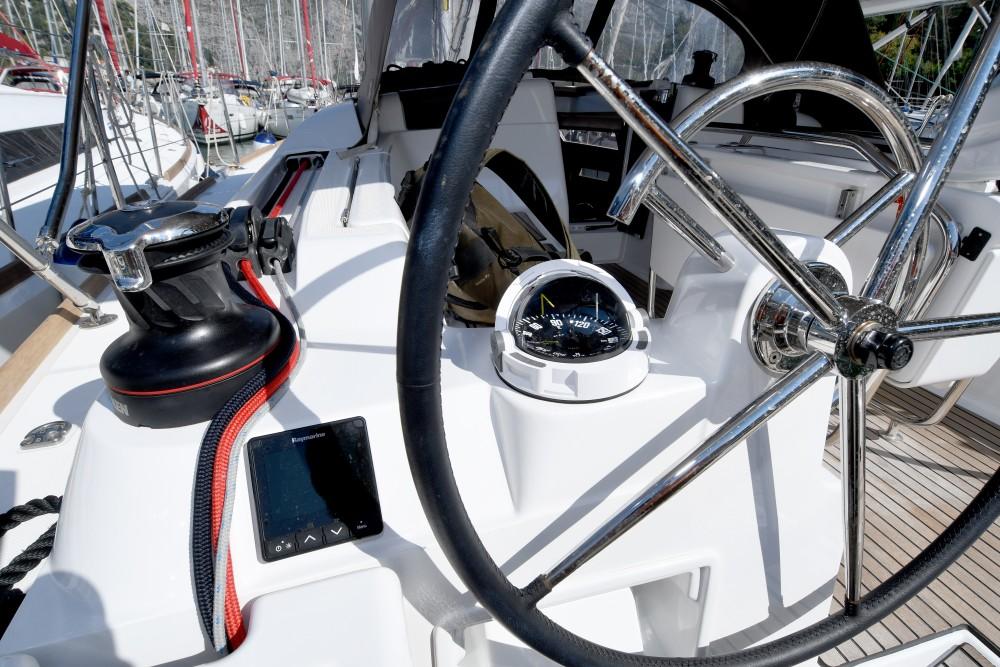 Boat rental Dubrovnik cheap Sun Odyssey 419