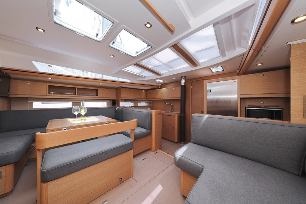 Boat rental Dufour Dufour Exclusive 56 - 5 + 1 cab. in  on Samboat