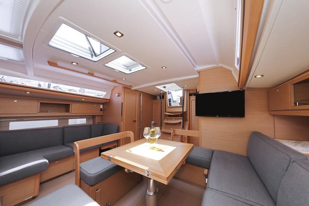 Boat rental  cheap Dufour Exclusive 56 - 5 + 1 cab.
