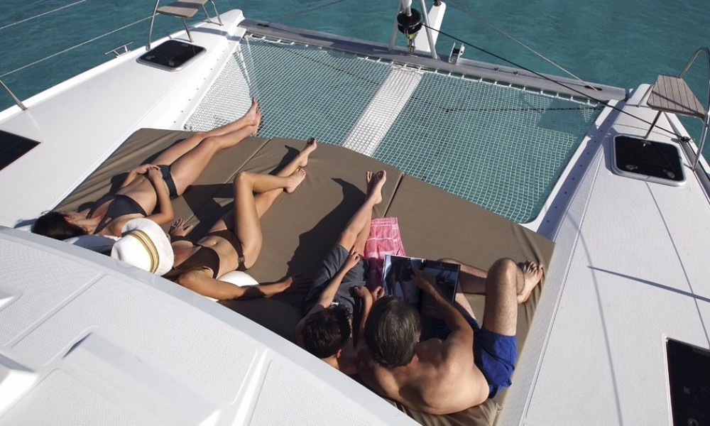 Rental yacht  - Fountaine Pajot Lucia 40 on SamBoat
