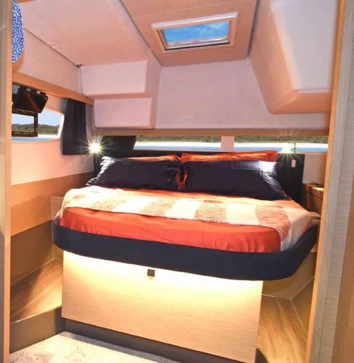 Rental Catamaran in  - Fountaine Pajot Lucia 40