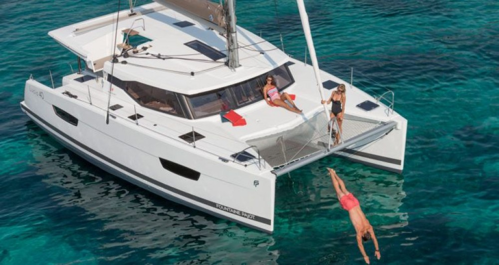 Hire Catamaran with or without skipper Fountaine Pajot Trogir