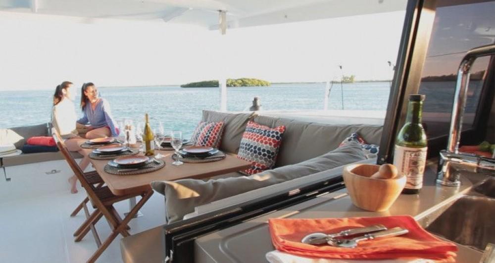 Rental Catamaran in Croatia - Fountaine Pajot Fountaine Pajot Lucia 40