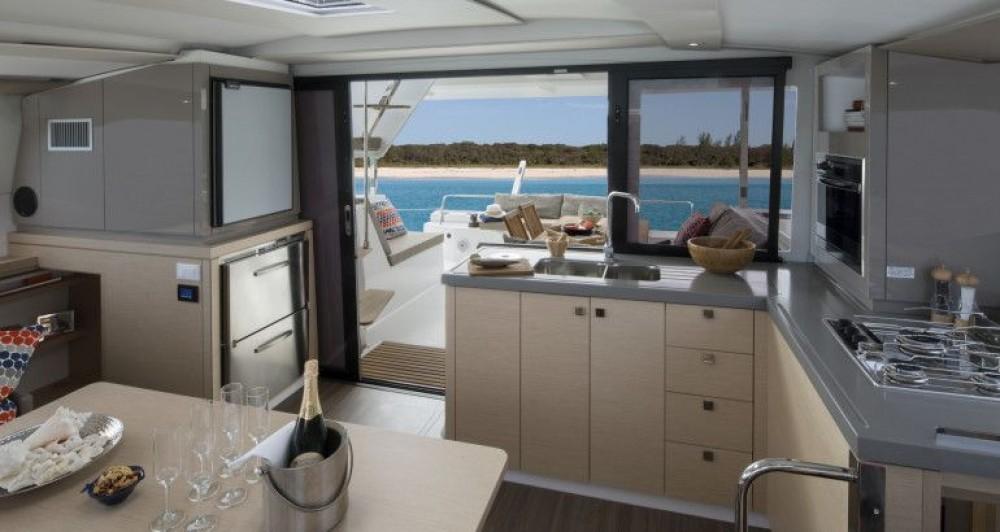 Boat rental Croatia cheap Fountaine Pajot Lucia 40