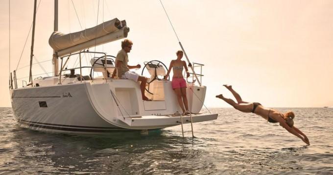 Rental yacht Trogir - Hanse Hanse 455 on SamBoat