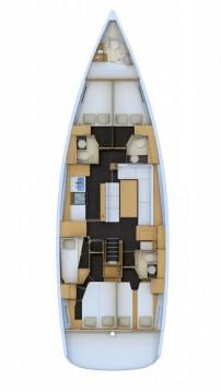 Boat rental Jeanneau Jeanneau 54 in Trogir on Samboat