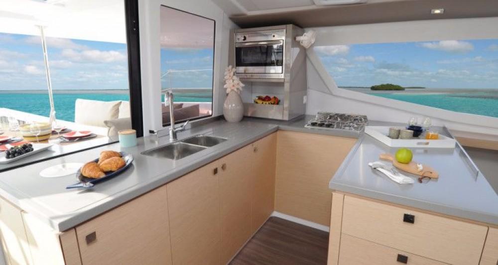 Rental Catamaran in Peloponnese - Fountaine Pajot Helia 44