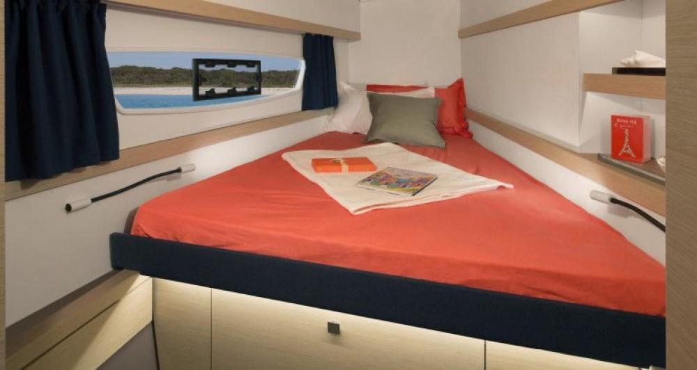 Boat rental Trogir cheap Fountaine Pajot Lucia 40