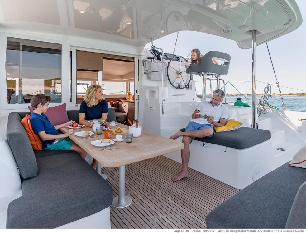 Boat rental Croatia cheap Lagoon 40