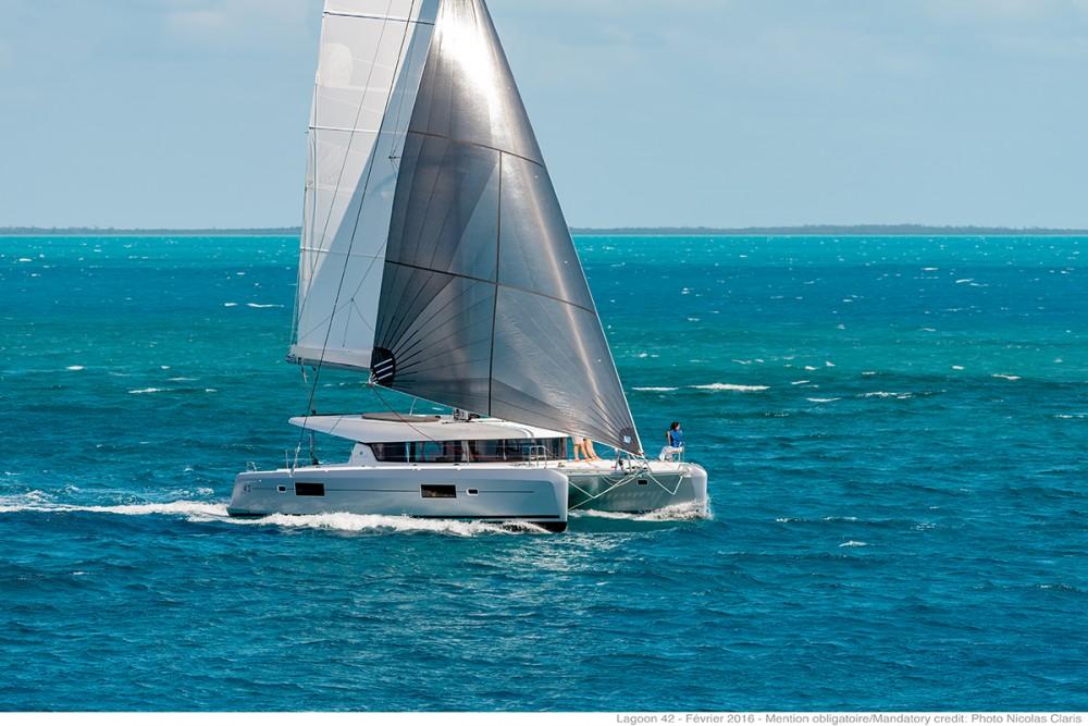 Boat rental Croacia cheap Lagoon 42