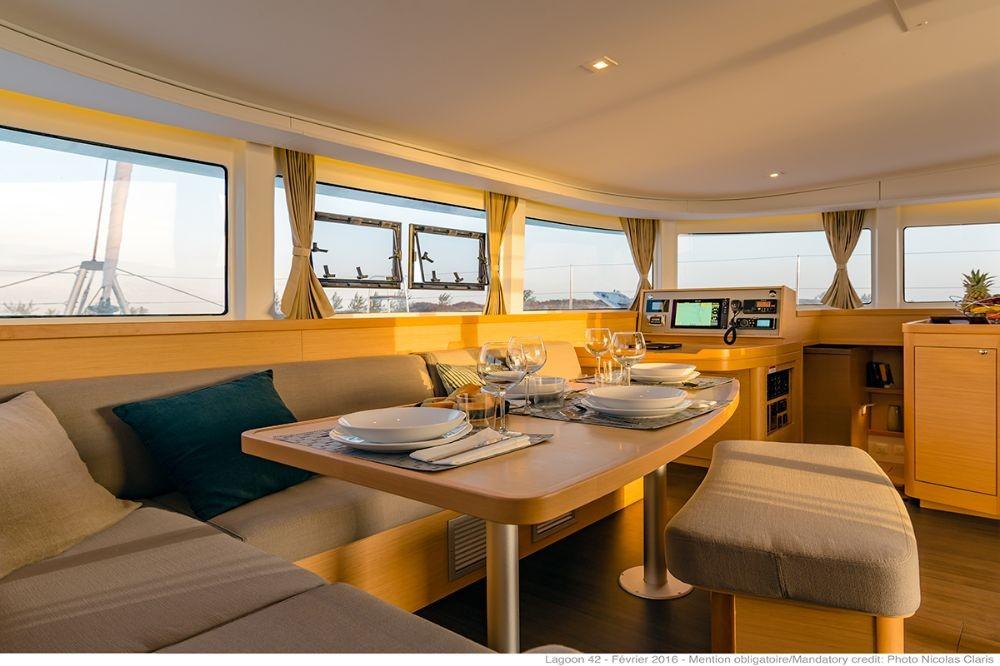 Boat rental Trogir cheap Lagoon 42