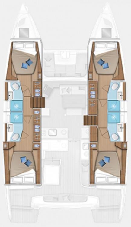 Lagoon Lagoon 46 - 4 + 1 cab. between personal and professional Göcek