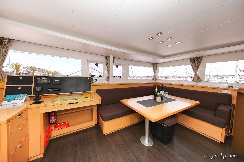Boat rental Croatia cheap Lagoon 450