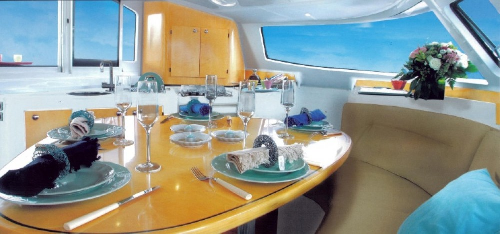 Fountaine Pajot Lavezzi 40 between personal and professional