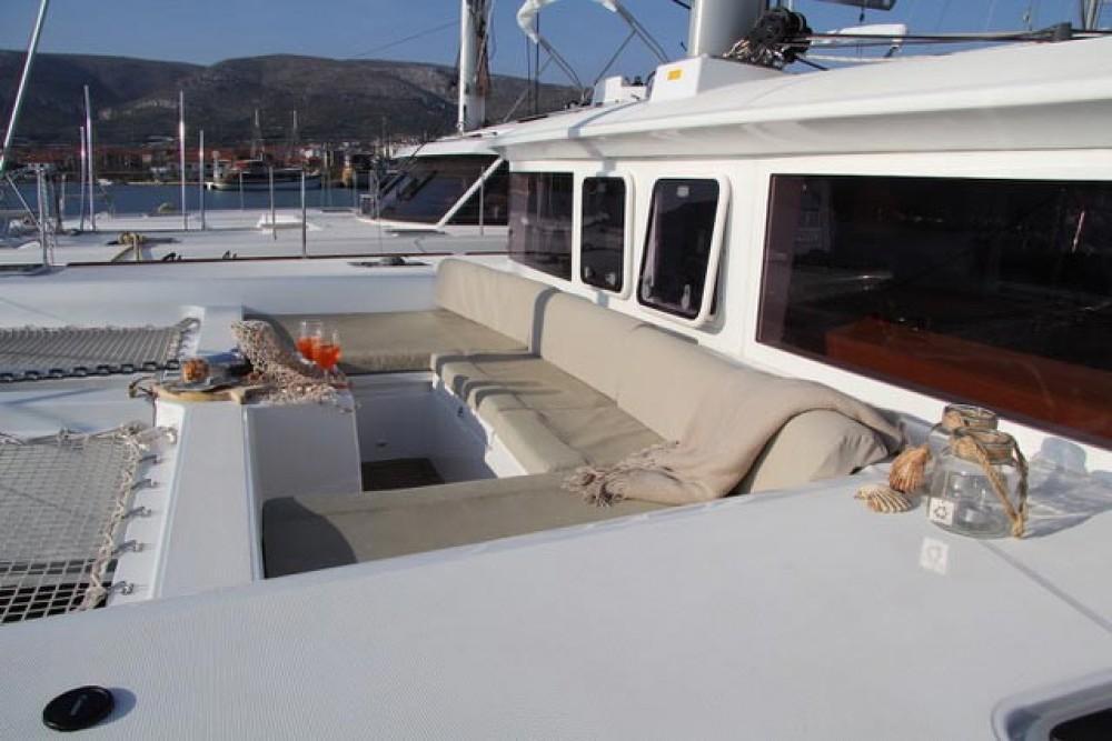 Lagoon Lagoon 450 between personal and professional Lefkada
