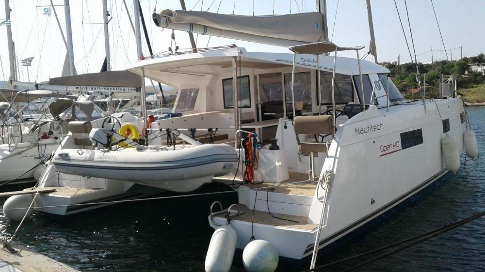 Boat rental Vólos cheap Nautitech 40