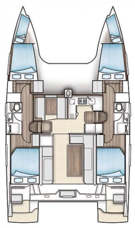 Rental Catamaran in Vólos - Nautitech Nautitech 40