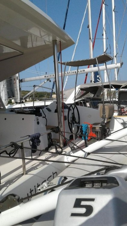 Hire Catamaran with or without skipper Nautitech Vólos
