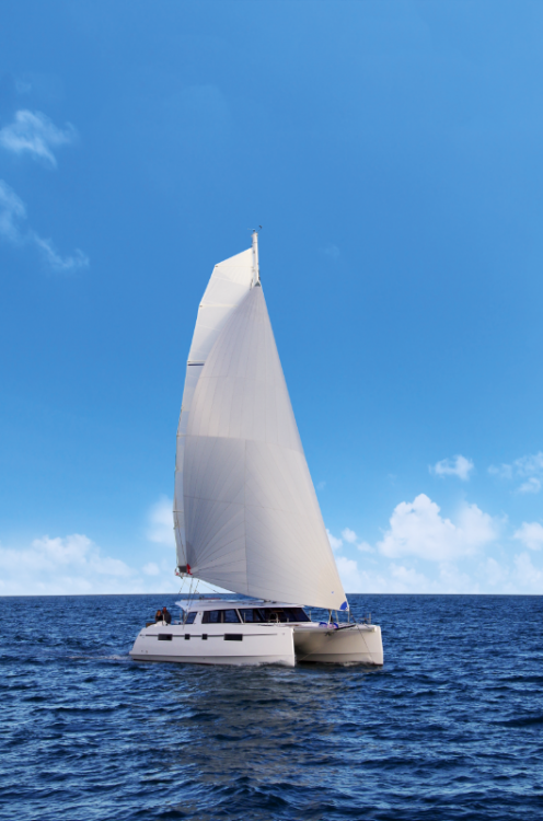 Hire Catamaran with or without skipper Nautitech Lávrio