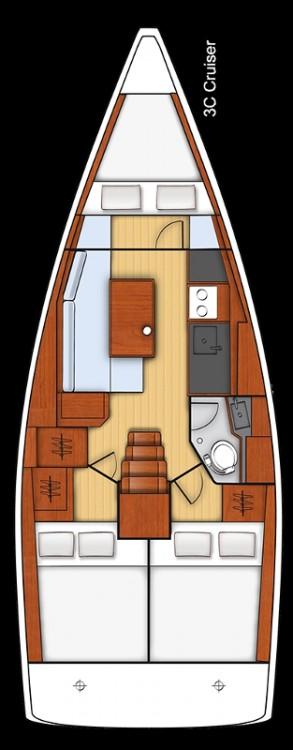 Boat rental Kroatië cheap Oceanis 35