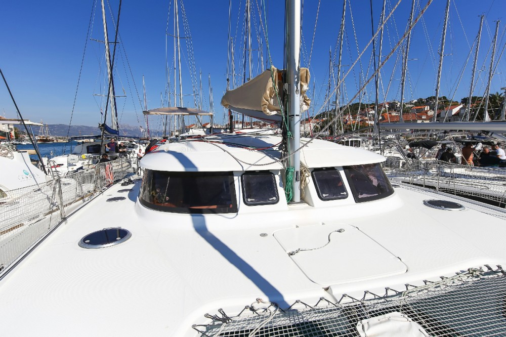 Fountaine Pajot Lipari 41 between personal and professional Trogir