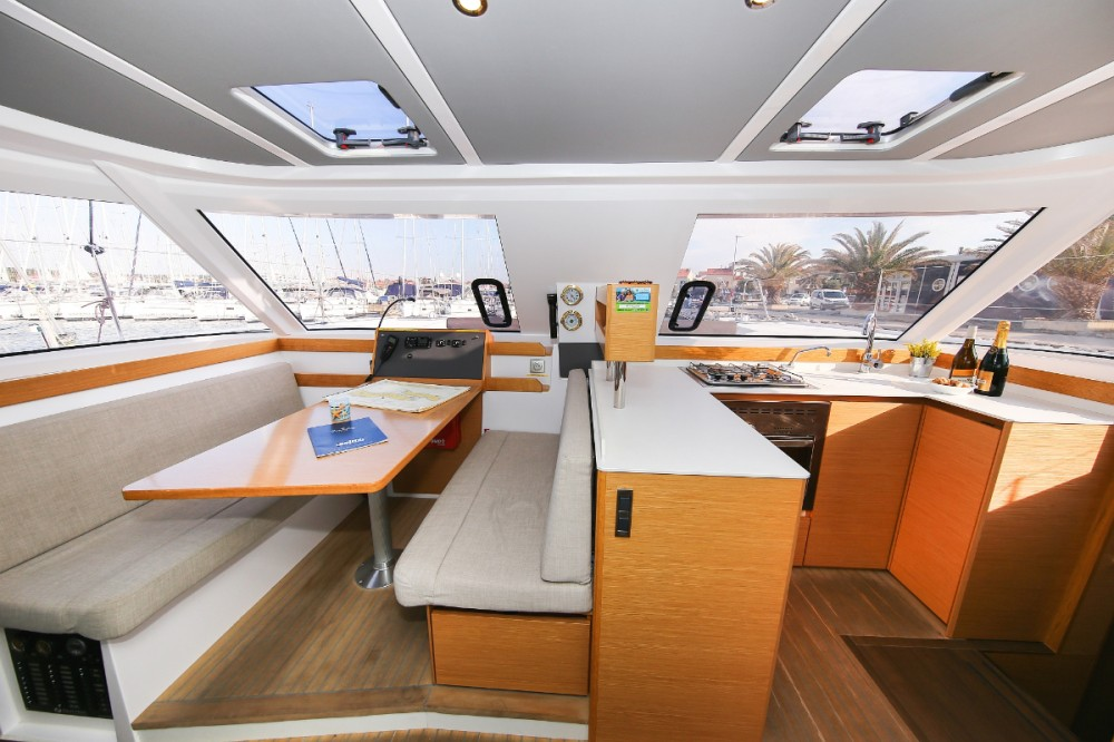 Boat rental Croatia cheap Nautitech 40
