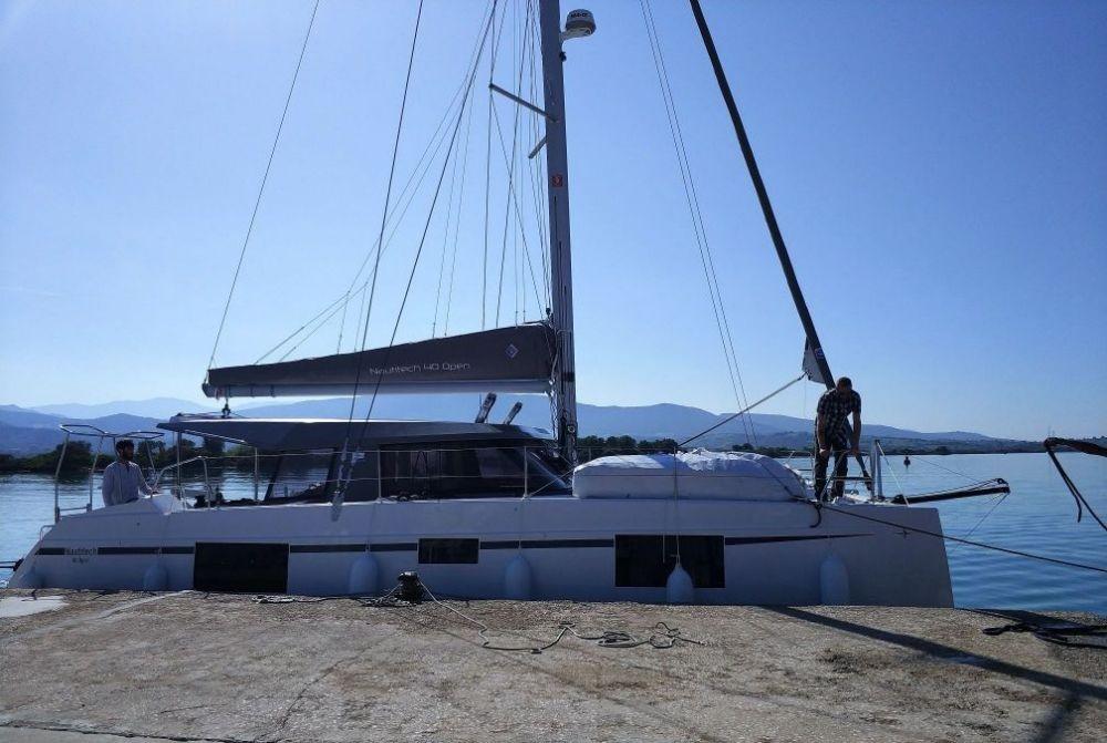 Boat rental Lefkada cheap Nautitech 40 open NEW - 4 + 2 cab.